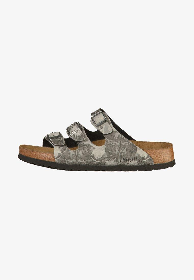 Papillio - FLORIDA - Pantolette flach - damask grey