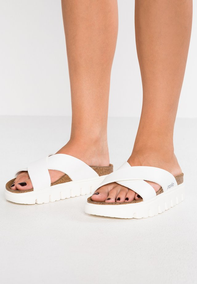DAYTONA - Mules - chunky white