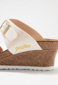 Papillio - DOROTHY - Heeled mules - cream - 2