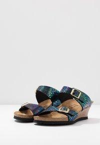 Papillio - DOROTHY - Heeled mules - multicolor/black - 4