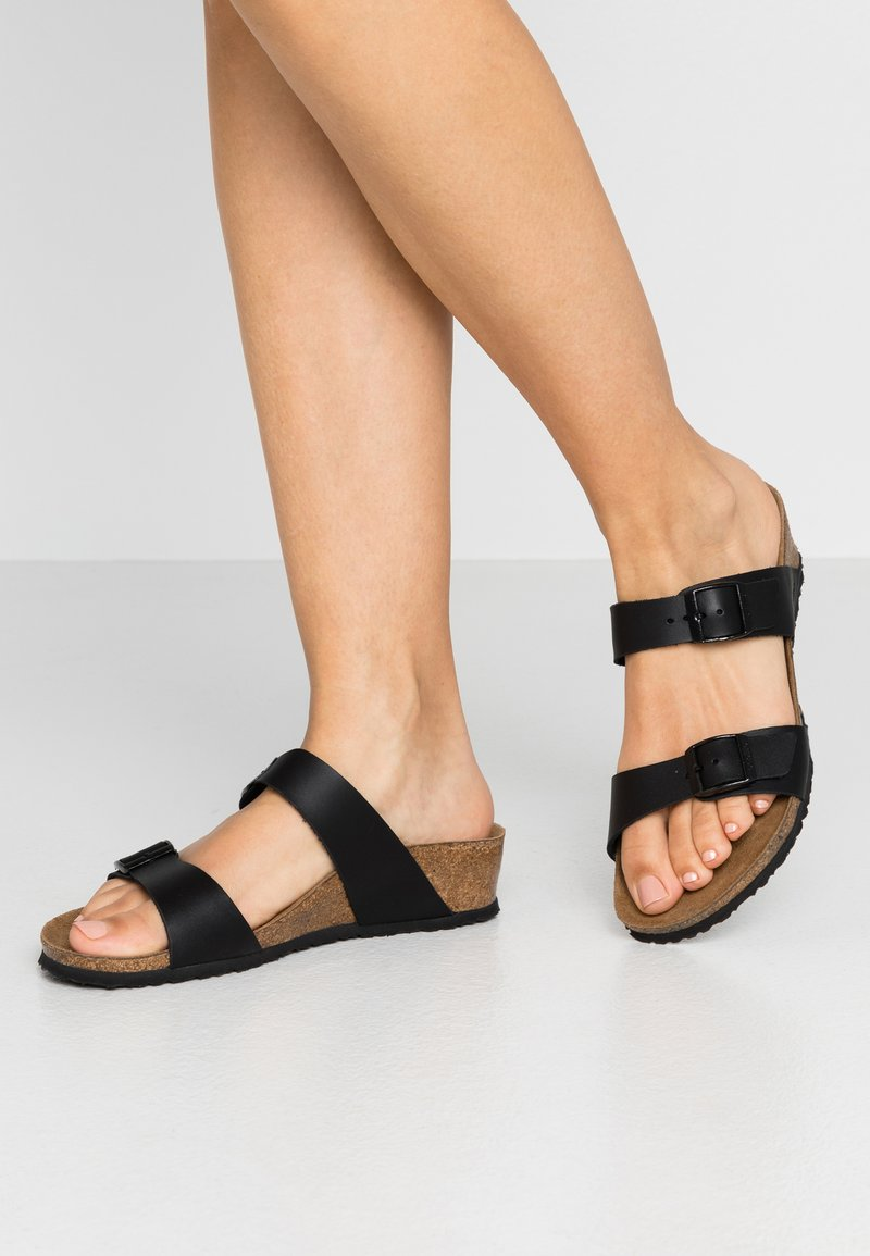 Papillio - TESSA - Pantofle - black