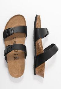 Papillio - TESSA - Pantofle - black - 3