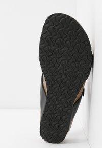 Papillio - TESSA - Pantofle - black - 6