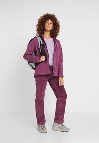 Patagonia - LOGO RESPONSIBILI TEE - Long sleeved top - verbena purple - 1