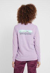 Patagonia - LOGO RESPONSIBILI TEE - Long sleeved top - verbena purple - 2