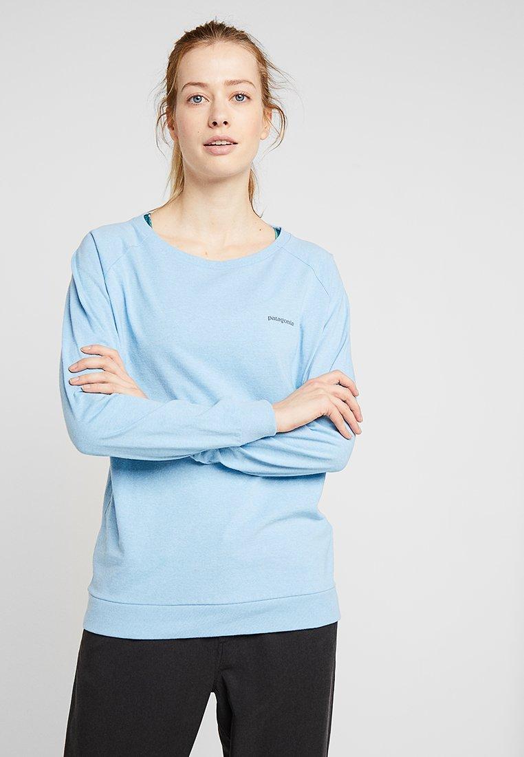 Patagonia - LOGO RESPONSIBILI TEE - Long sleeved top - break up blue