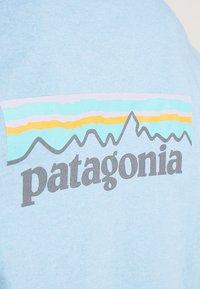 Patagonia - LOGO RESPONSIBILI TEE - Long sleeved top - break up blue - 5