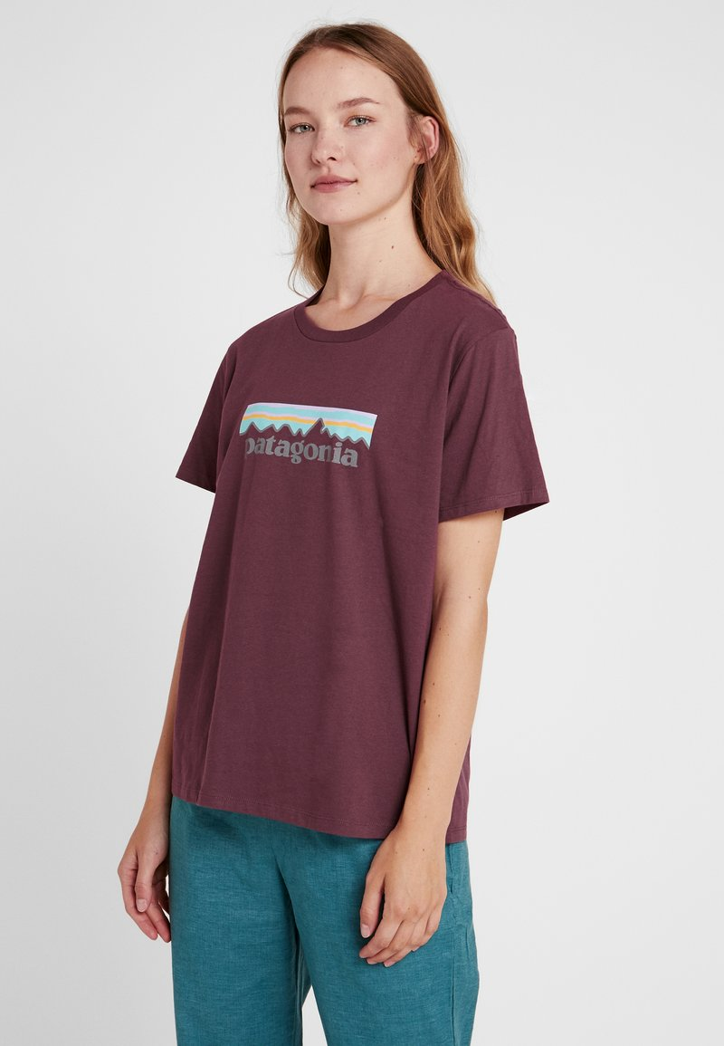 Patagonia - LOGO CREW  - T-Shirt print - light balsamic