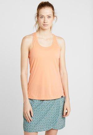 CAP COOL LIGHTWEIGHT TANK - Treningsskjorter - peach sherbet