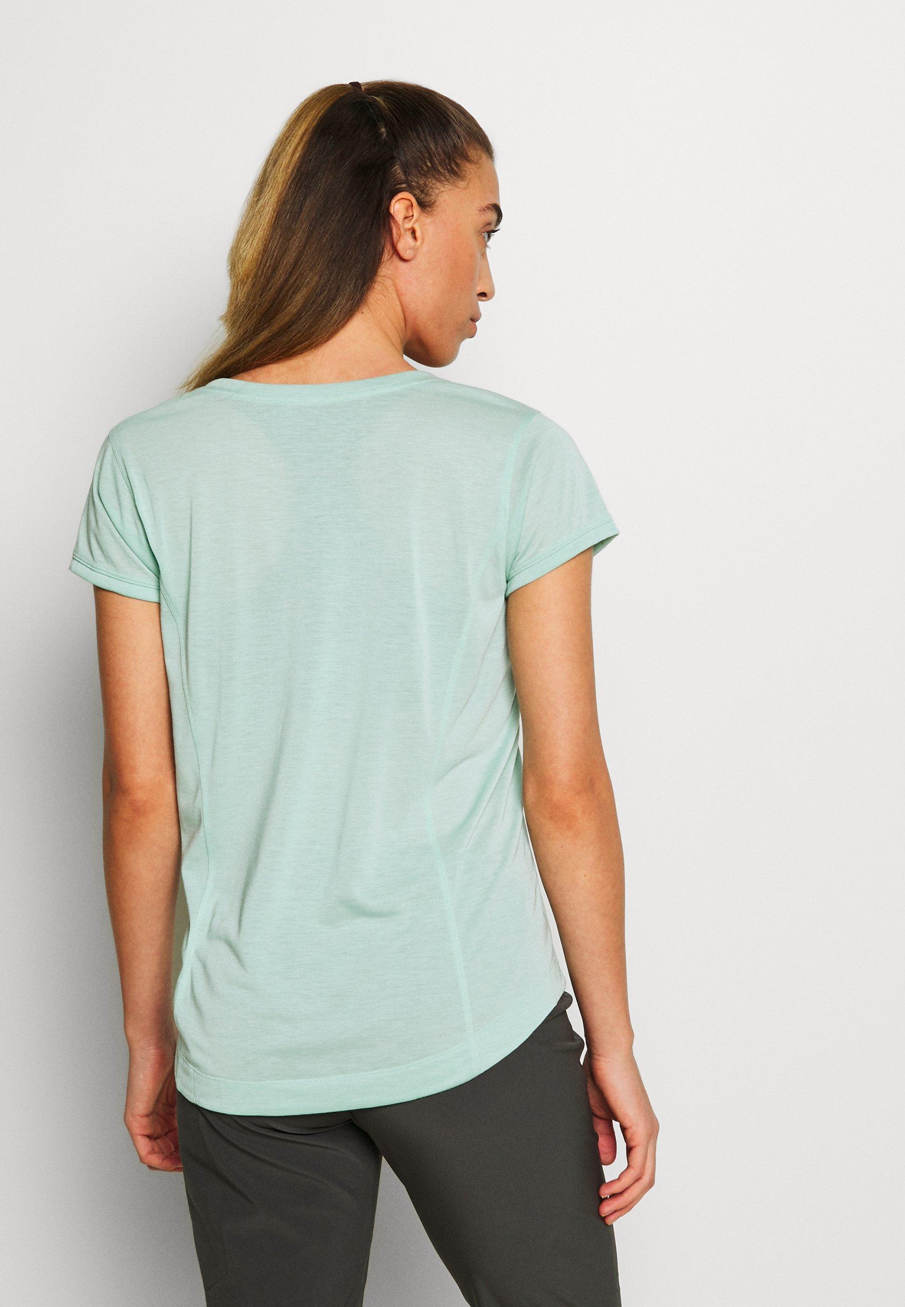 Patagonia CAP COOL TRAIL BIKE - T-shirt basic - gypsum green