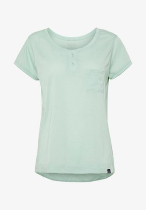 CAP COOL TRAIL BIKE - Basic T-shirt - gypsum green