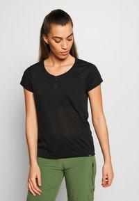 Patagonia - CAP COOL TRAIL BIKE - T-Shirt basic - black - 0