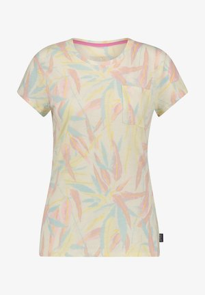 "PATAGONIA DAMEN OUTDOOR-T-SHIRT ""MAINSTAY TEE"" - Print T-shirt - yellow/light pink/blue"