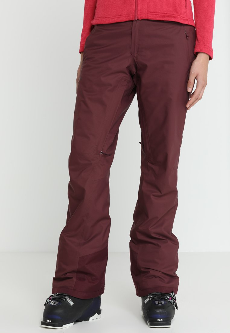 Patagonia - INSULATED SNOWBELLE PANTS - Skibroek - dark currant