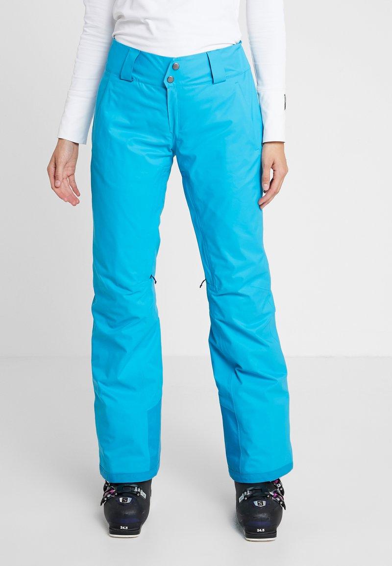 Patagonia - INSULATED SNOWBELLE PANTS - Pantaloni da neve - curacao blue