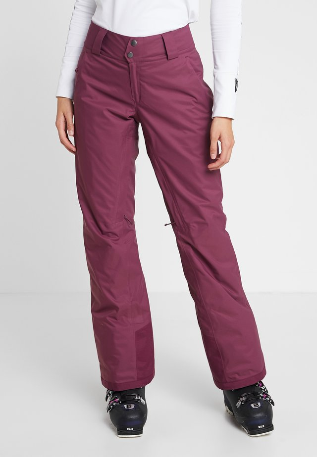 INSULATED SNOWBELLE PANTS - Talvihousut - light balsamic