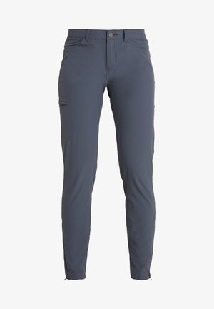 SKYLINE TRAVELER PANTS  REG - Pantalon classique - smolder blue