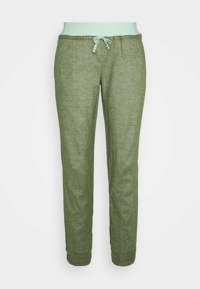 HAMPI ROCK PANTS - Trousers - camp green