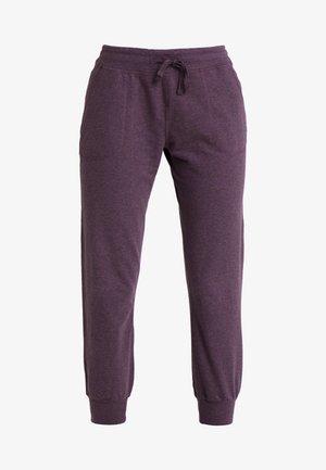 AHNYA PANTS - Spodnie treningowe - deep plum