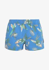 parrots/port blue