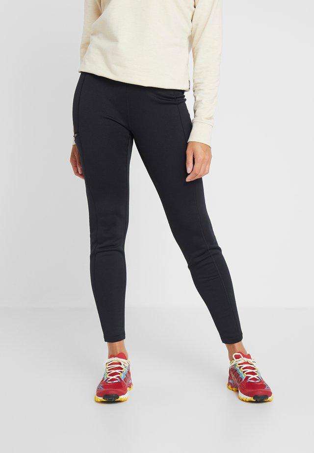 CROSSTREK BOTTOMS - Dlouhé spodní prádlo - black