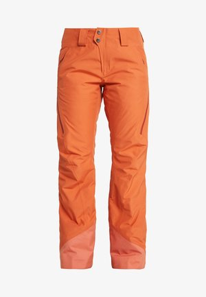 INSULATED POWDER BOWL PANTS - Pantalón de nieve - sunset orange