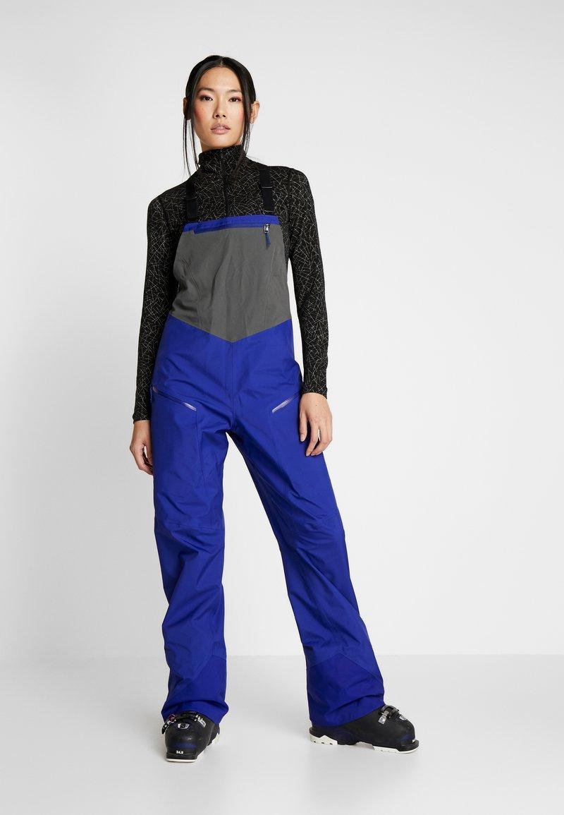 Patagonia - SNOWDRIFTER - Pantaloni da neve - cobalt blue