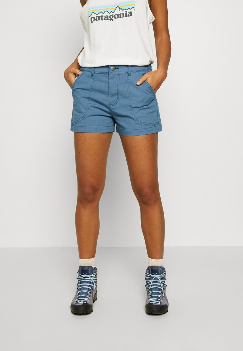 Patagonia - STAND UP - Sports shorts - pigeon blue