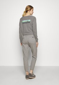 Patagonia - PANTS - Tracksuit bottoms - feather grey - 2
