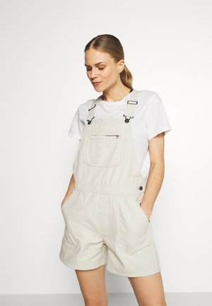 STAND UP OVERALLS - Sports shorts - dyno white