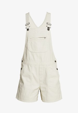 STAND UP OVERALLS - Short de sport - dyno white
