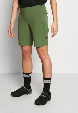 TYROLLEAN BIKE SHORTS - kurze Sporthose - camp green