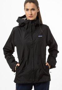 Patagonia - TORRENTSHELL - Hardshell jacket - black - 0