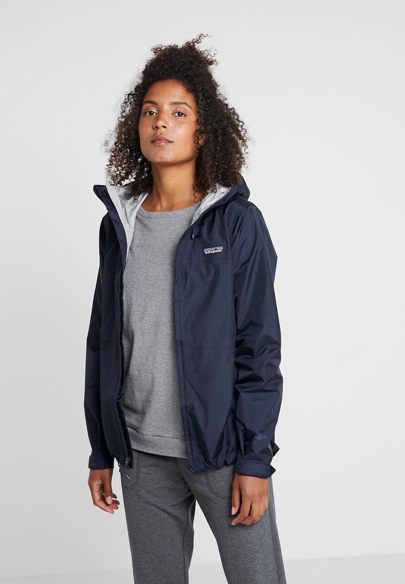 Patagonia - TORRENTSHELL - Hardshell jacket - navy blue