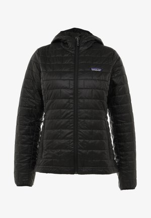 NANO PUFF HOODY - Outdoorjacke - black