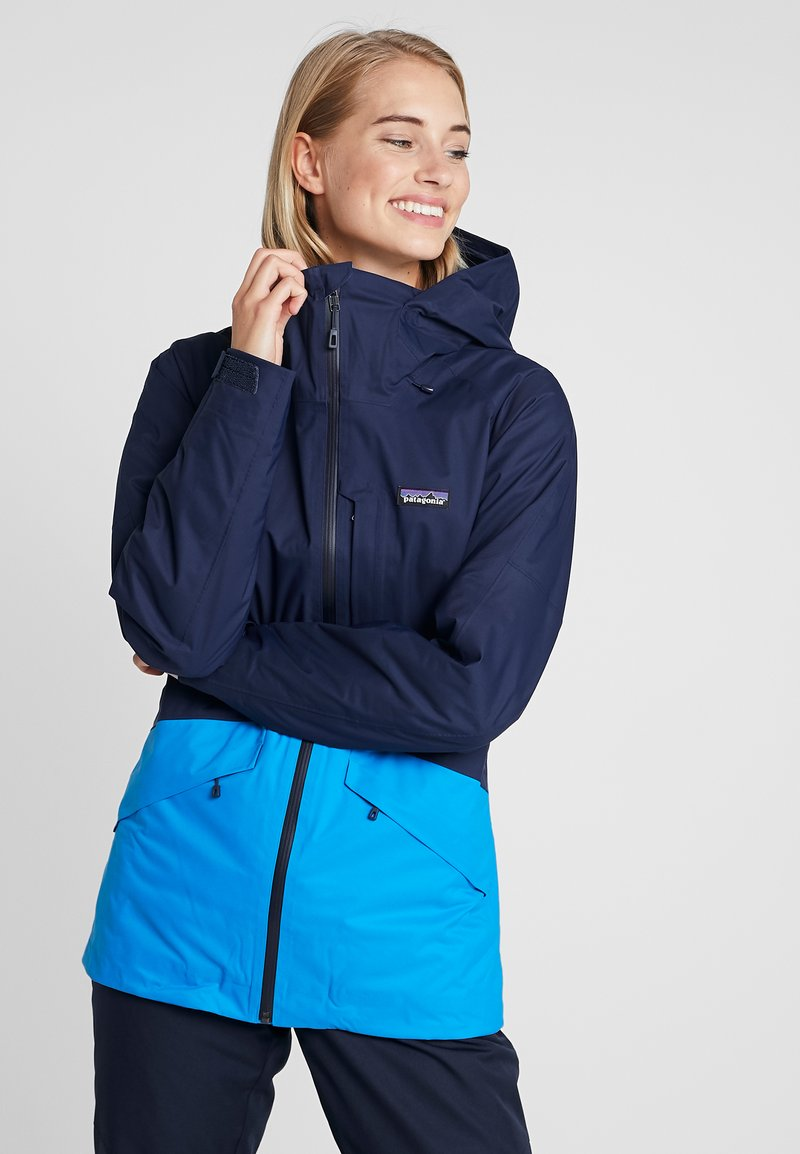 Patagonia - INSULATED SNOWBELLE - Ski jacket - classic navy