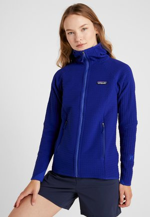 TECHFACE HOODY - Fleecetakki - cobalt blue
