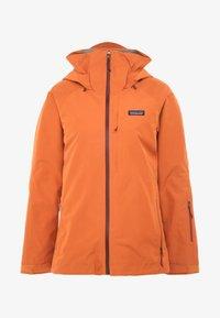 Patagonia - INSULATED POWDER BOWL  - Snowboard jacket - sunset orange - 8