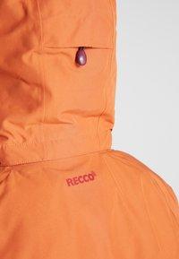 Patagonia - INSULATED POWDER BOWL  - Snowboard jacket - sunset orange - 9
