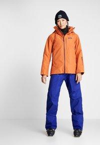 Patagonia - INSULATED POWDER BOWL  - Snowboard jacket - sunset orange - 1