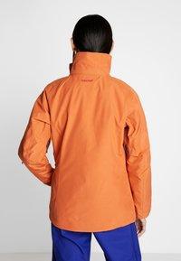 Patagonia - INSULATED POWDER BOWL  - Snowboard jacket - sunset orange - 3