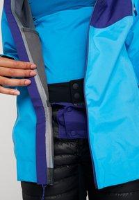 Patagonia - SNOWDRIFTER - Skijacke - curacao blue - 7