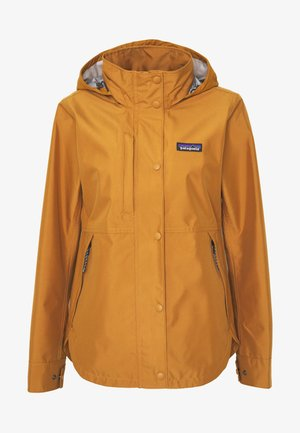 LIGHT STORM - Hardshell jacket - umber brown