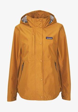 LIGHT STORM - Hardshellová bunda - umber brown