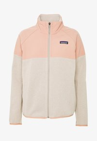 Patagonia - BETTER SWEATER SHELLED - Fleecová bunda - pumice - 4