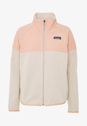 BETTER SWEATER SHELLED - Fleece jacket - pumice