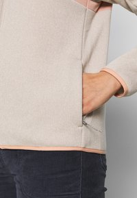 Patagonia - BETTER SWEATER SHELLED - Fleecová bunda - pumice - 5
