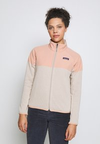Patagonia - BETTER SWEATER SHELLED - Fleecová bunda - pumice - 0