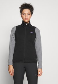 Patagonia - BETTER SWEATER - Smanicato - black - 0