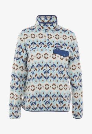 SYNCH SNAP - Fleece jumper - sky blue